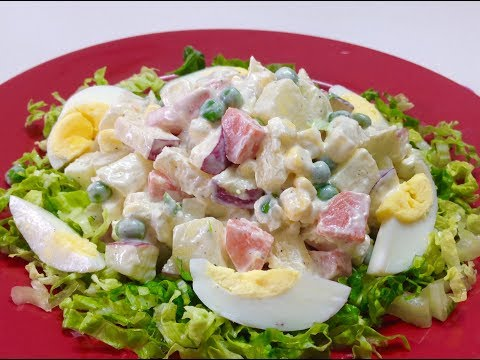 Russian Salad | Quick Salad Recipe By Cooking Passion