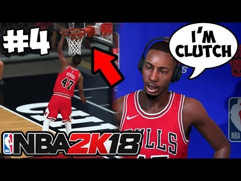 NBA 2K18 Gameplay My Career - FIRST DUNK!/ MOST CLUTCH MOMENT!