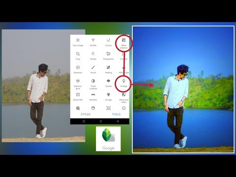 Snapseed Amazing Editing Tricks | Click 2 Button Best Color Effect | Snapseed Editing Tutorial