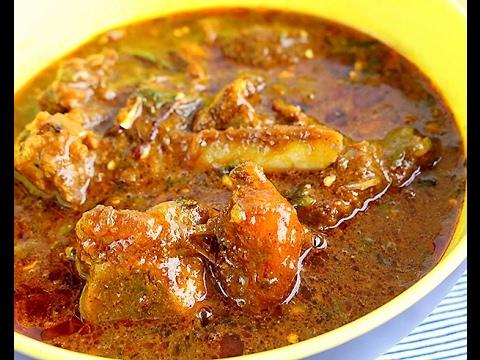 Okra / Okro soup recipe. Easy & Simple (Enkroma Nkwan) Ghana style!!
