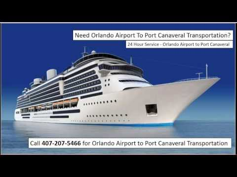 Orlando Airport To Port Canaveral - 407-207-5466