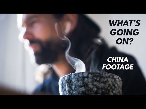 What's Going On? China Footage & Coffee Addiction