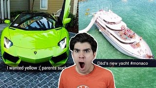 THE RICHEST TEENS SNAPCHATS!