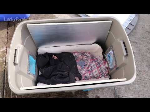DIY Plastic Tub Feral Cat Shelter Spring Update Heated Pet Pad