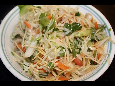 Crispy Vegetable Salad - Delicious and Simple recipe!!!