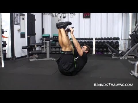 Abdominal Workouts: Ab Workout with Resistance Bands | How to Get Better Abs | Kinetic Bands