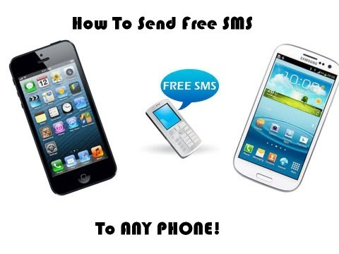 How To Send Free SMS To ANY phone from iPhone/iPod/iPad/Android/WindowsPhone!