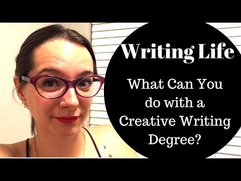 Writing Life || What can you do with an MFA in Creative Writing?