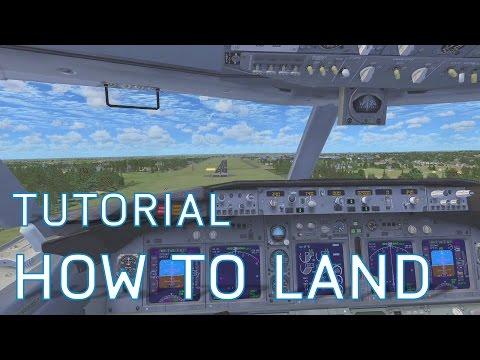 FSX How to Land | Boeing 737-800 | Tutorials
