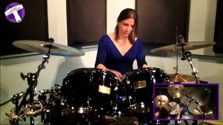 """""""Wipeout"""" Drum Cover - The Surfaris"""