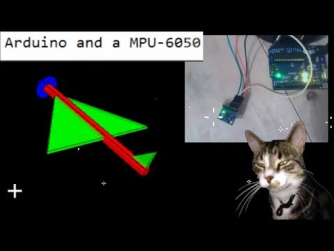 Arduino and a MPU-6050 6DOF by Cosmo Cat