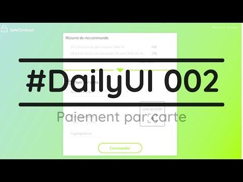 #DailyUI 002 - La signification des couleurs