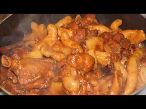 Grenadian Brown Down Recipe (Stew Chicken & Dumplings)