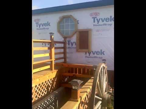 Log Home Siding Installation