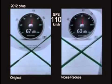 2013 prius NVH test @ 110km/h