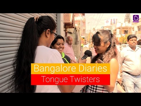 Kannada Tongue Twisters By Bangloreans