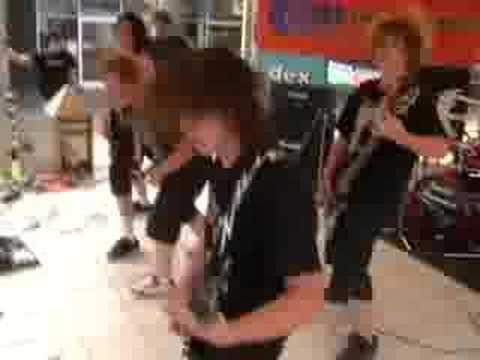 me playing drums in mildura in sacred obsession