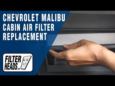 How to Replace Cabin Air Filter Chevrolet Malibu