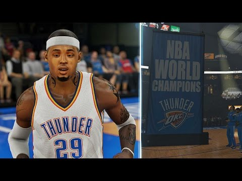 NBA 2K15 MyCAREER - Championship Ring Ceremony - Deshawn Signs MAX CONTRACT! Westbrook Is BACK!?!