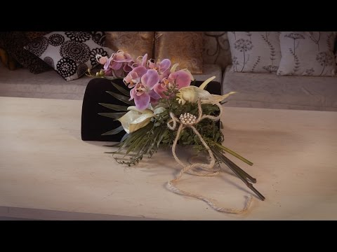 Orchid and Anthurium Bouquet Floristry Tutorial