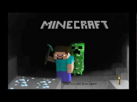 Minecraft - How to make Iron Ignot