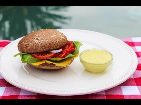 How to Make a Raw Vegan Burger and