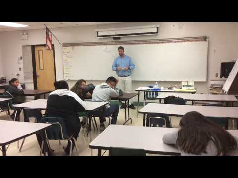 Student Falls Asleep in Class and the Teacher Plays a Prank