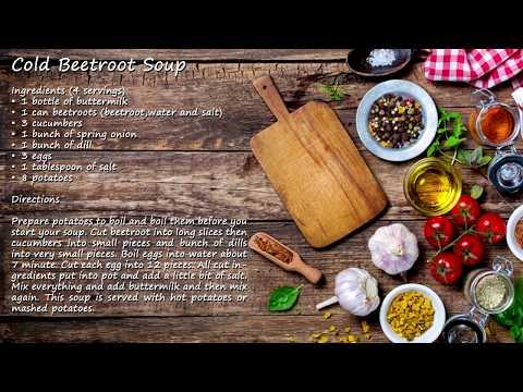 Šaltibarščiai - Cold Beetroot Soup