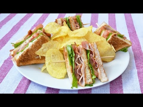 How to Make a Club Sandwich - Easy Club Sandwich Recipe