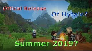A RELEASE DATE FOR HYTALE?!