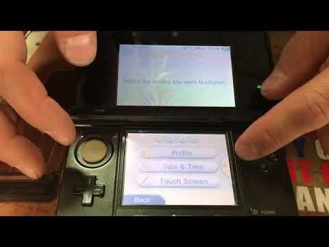 Best Video How To Hard Reset Nintendo 3Ds Forgot Password
