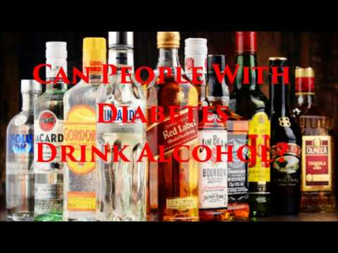 Can PEOPLE With DIABETES DRINK ALCOHOL? | Diabetic Recipes and Diabetes Health