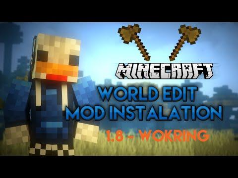 Minecraft 1.8 - How to install WorldEdit! [Tutorial]