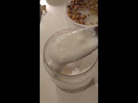 Milk Kefir (less sour)