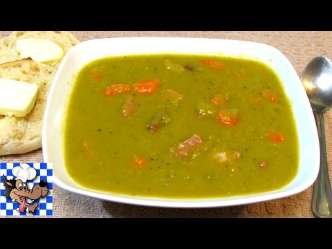 Split Pea Soup - How To Make Split Pit Pea and Ham Soup