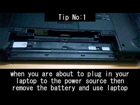 Replacing DELL Inspiron 14r battery with TIPS