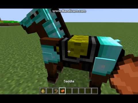 Taming a horse in Minecraft for update 1.7.4