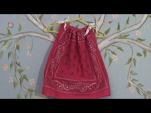 Quick n easy to sew bandana dress / blouse-  Summer dress / shirt