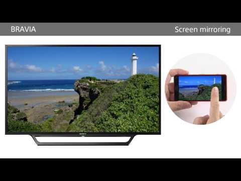 Sony BRAVIA - How to setup and use Screen mirroring