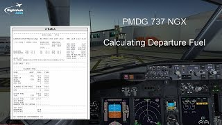 PMDG 737 NGX - REAL BOEING PILOT - How to Calculate Approach
