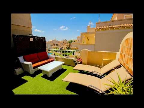 Luxury Quad House in Playa Flamenca, Orihuela Costa, Alicante, Costa Blanca, Spain