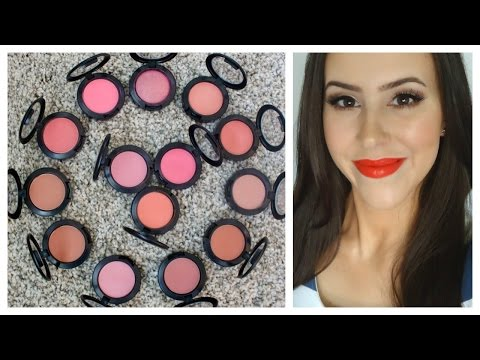 Mac Blush Collection 2014 + Swatches & Review