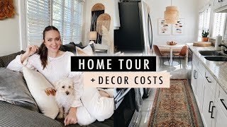 HOME TOUR with Decor Costs + GIVEAWAY | XO, MaCenna