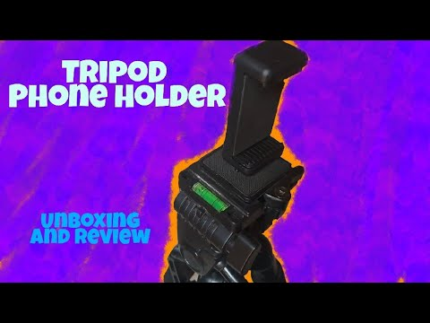 [Hindi - हिन्दी] Best Budget Mobile Holder Mount for Tripod | Unboxing & Hands on - 2018
