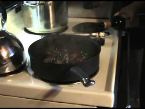 Balsamic Red Wine Glazed Steak