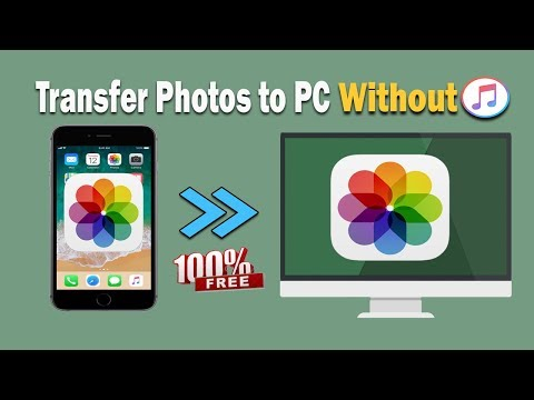 Transfer Photos from iPhone to PC 2018   Without iTunes and 100% FREE!!