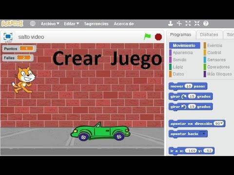 ✅ Crear Juego de saltos en Scratch