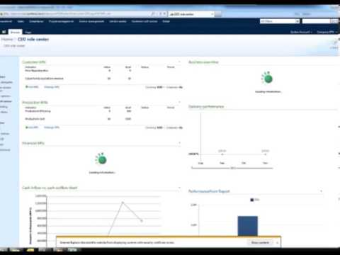 Reporting and Business Intelligence in Dynamics AX - Webinar