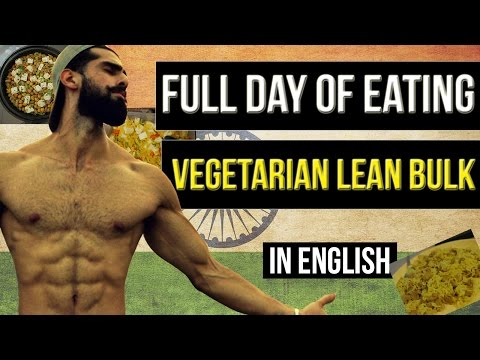 HIGH PROTEIN VEGETARIAN Plan for BUILDING MUSCLE (2100 Calories) | INDIAN VEGETARIAN DIET