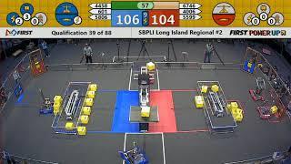 Qual 39 - 2018 SBPLI Long Island Regional #2